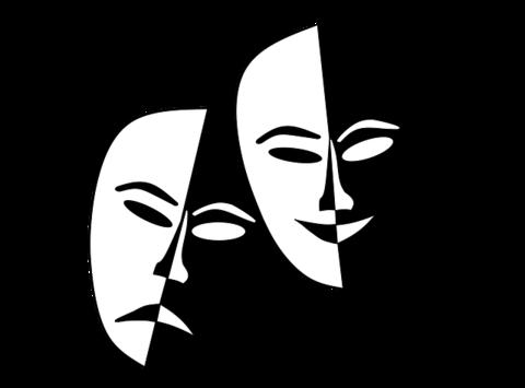 Liten Theatermasken